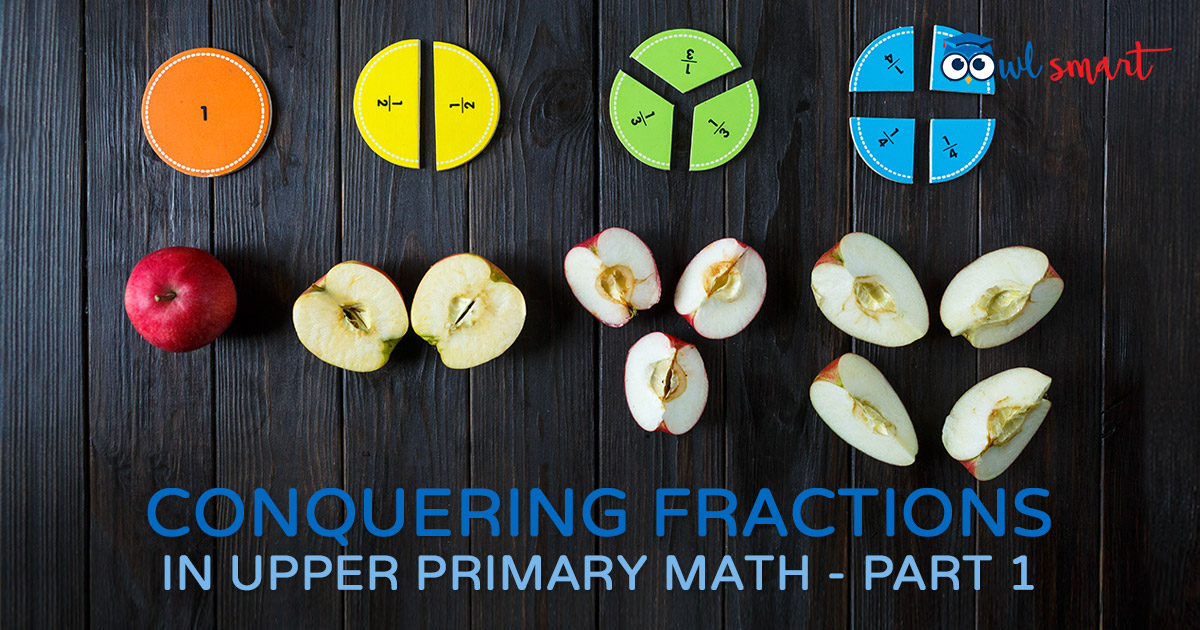 Conquering Fractions in Upper Primary Math  Part 1