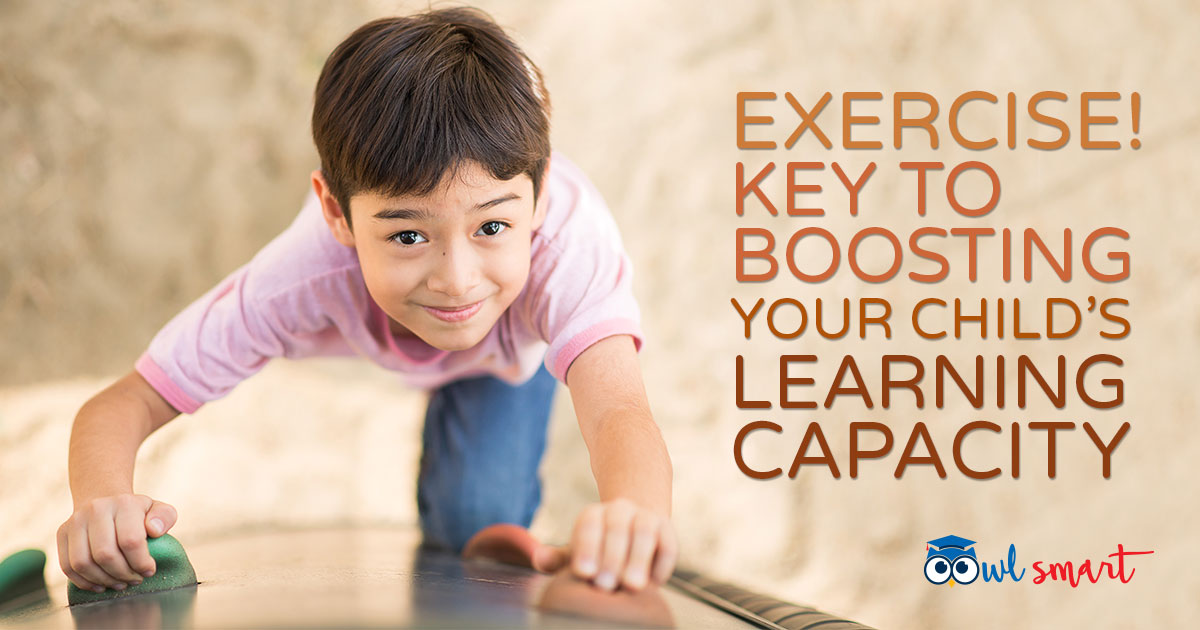 Exercise Key to Boosting Your Childs Learning Capacity