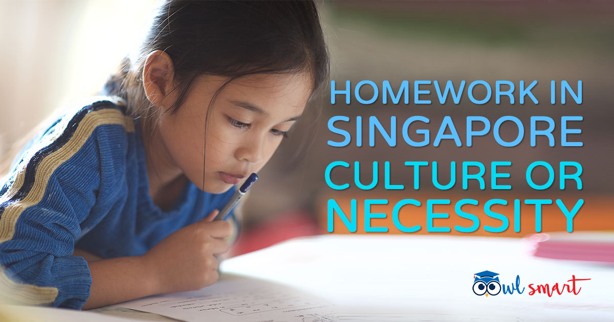 Homework In Singapore  Culture or Necessity