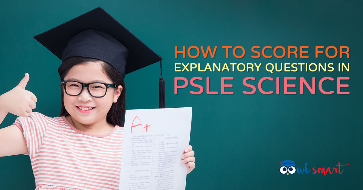 How to Score for Explanatory Questions in PSLE Science