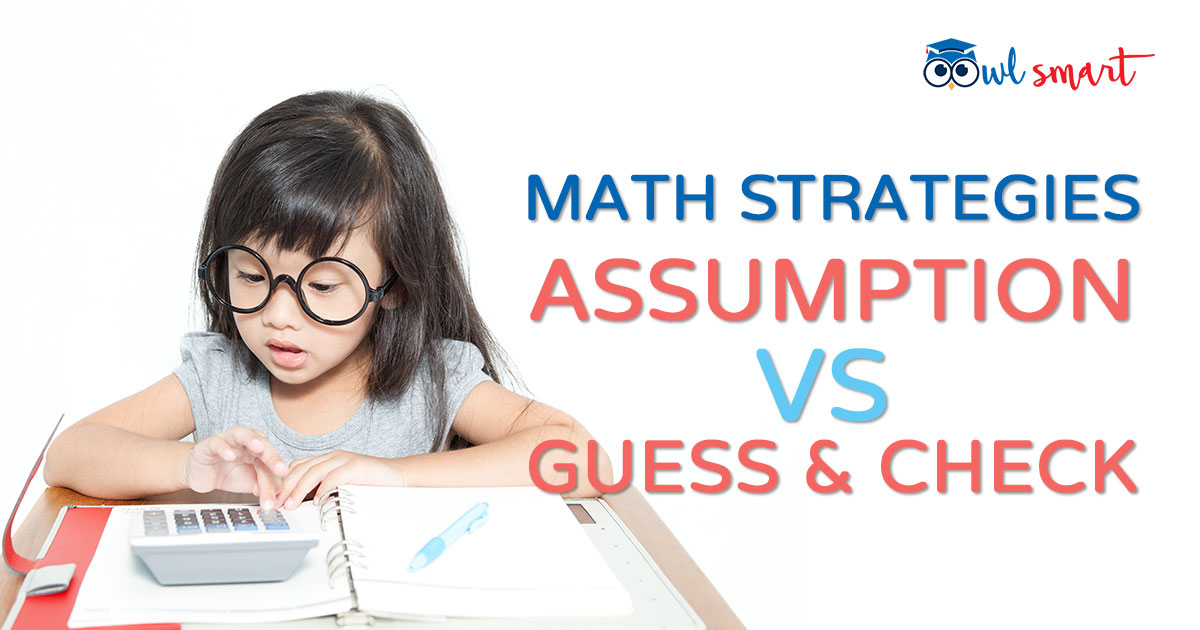 Math Strategies Assumption VS Guess and Check