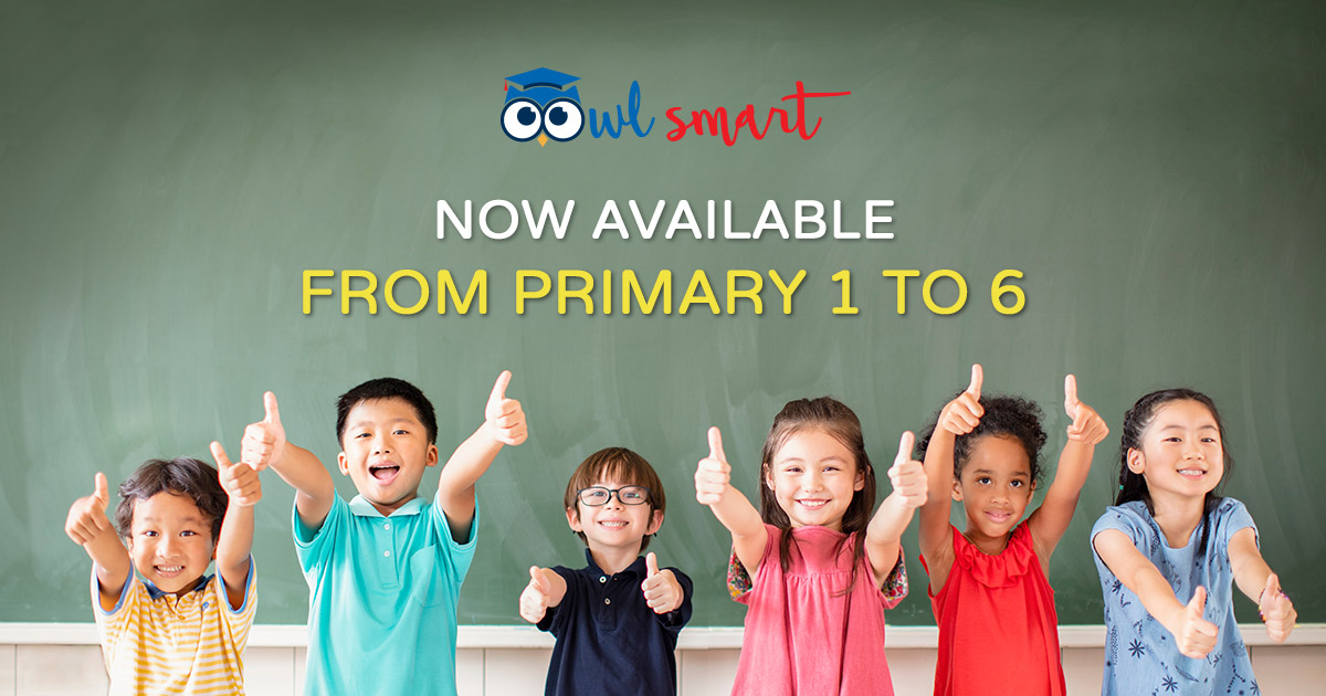 OwlSmart Now Available From Primary 1 to 6