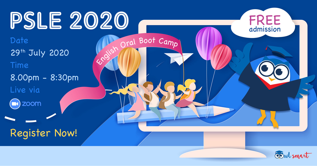 PSLE 2020 English Oral Boot Camp
